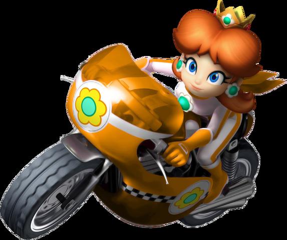 File:Princess Daisy Artwork Mario Kart Wii.png