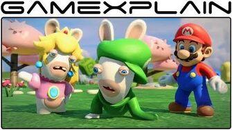 Mario Rabbids Kingdom Battle - E3 2017 Reveal Trailer