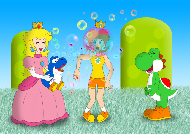 File:A bubble helmet with bubble by zefrenchm-d6j0f14.png