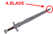 Blade (Tip Of The Sword)