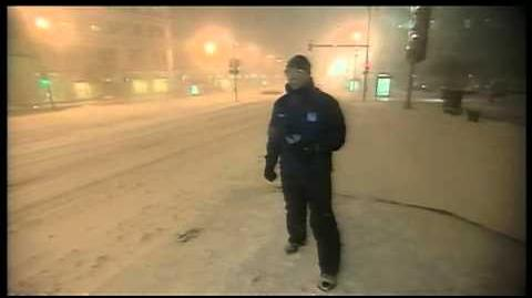 Jim Cantore Jolted by Thundersnow