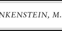 Frankenstein, M.D.