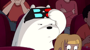 Shush Ninjas Ice Bear sees girl on phone