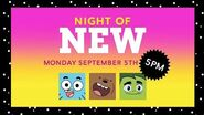Night of NEW - Cartoon Network