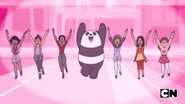Panda's Dream Girls and Panda dancing