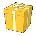 Goldandwhitecatbox