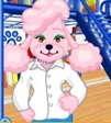 Woman Pink Poodle