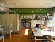 Jinego Elementary School nurses office back