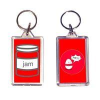 Weebl Jam Key Ring