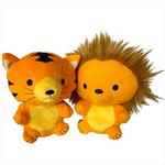 Kenya Lion And Tiger Plushies
