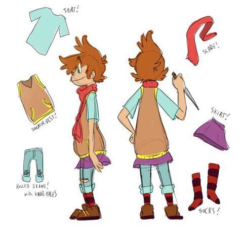 File:Sock outfit model.jpg