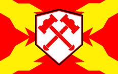 Flagge des alten Spanischen Reich