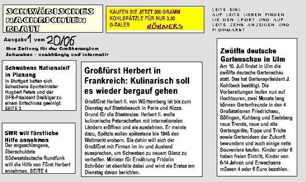 Newsblatt