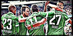 Werder Team Celebrating Wallpaper 3