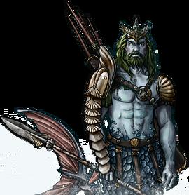 Merfolk Spearman Potrait