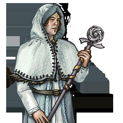 File:Human Mage white Potrait.png