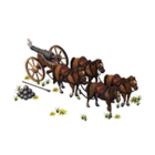 Wt horse drawn cannon ea market