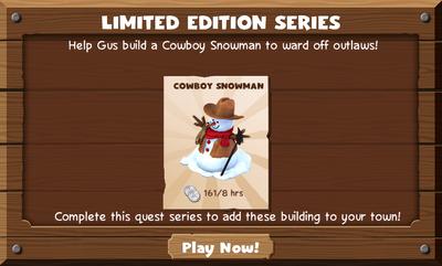 Snowman to Man