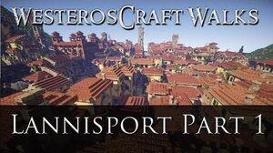 WesterosCraft Walks Lannisport (Part 1)