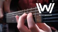Westworld Theme on Guitar