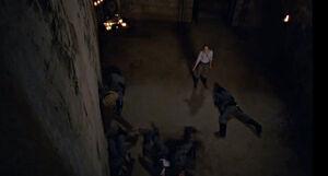 Dolores kills them all