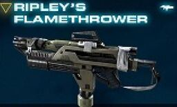 Ripley's Flame Thrower