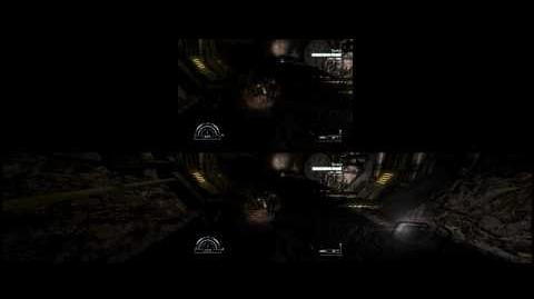 Aliens vs Predator, Marines Gameplay - Eyefinity 5040x1050