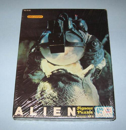 Alien discovery jigsaw
