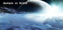 Humans vs Aliens