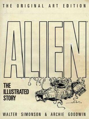 Alien-The Illustrated Story (Original Art Edition)