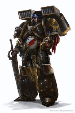 Battle-Brother Gantulga Sagyar Mazan Aslt Formation