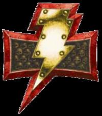 White Scars Lightning Icon
