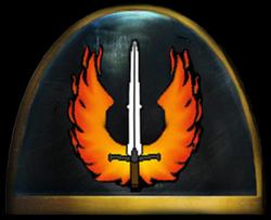 Phoenix Knights Shoulder Guard