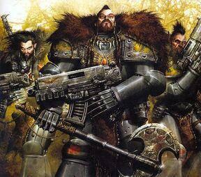 Harald Bloodtooth, Ulrik De'Noral and Svend Stryksen