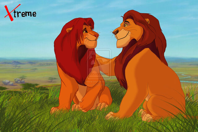 File:The lion king mufasa and simba by diego32tiger-d5ty527.jpg