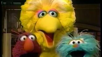 "Sesame Street (-3804)- Big Bird Gets ""C is for Cookie"" in His Head"