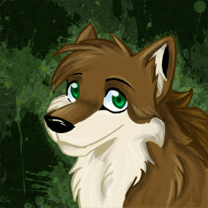 File:Cartoon Wolf by recycled batteries.jpg