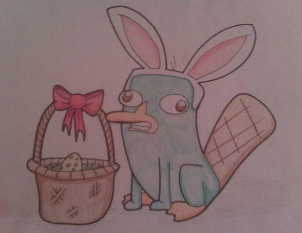 File:Easter platypus by spongebobluvr66-d3crz5b.jpg