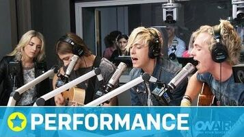 "R5 Covers OneRepublic's ""Counting Stars"" & Surprise Announcement I On Air with Ryan Seacrest-1"
