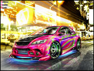 Ford Focus ST WTB 08 by roobi
