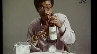 1974 - Suntory Whisky, 'Sammy Davis Jr ad libs