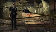 Sarcophagus crime scene