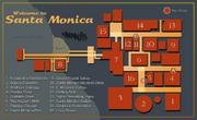 SantaMonica map
