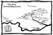 Area Surrounding Ceoris