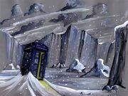 TARDIS-Cam-snowsketch