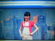 Mizz Dungarees at the audictions