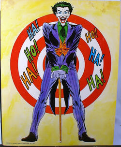 Joker target laughing