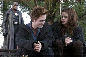 Twilight meets blade