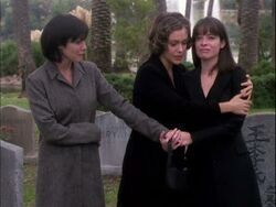 The charmed ones grieving