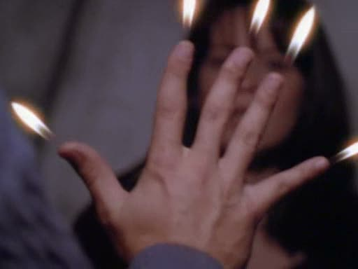 File:Jeremy lights his fingers on fire in front of piper.jpg